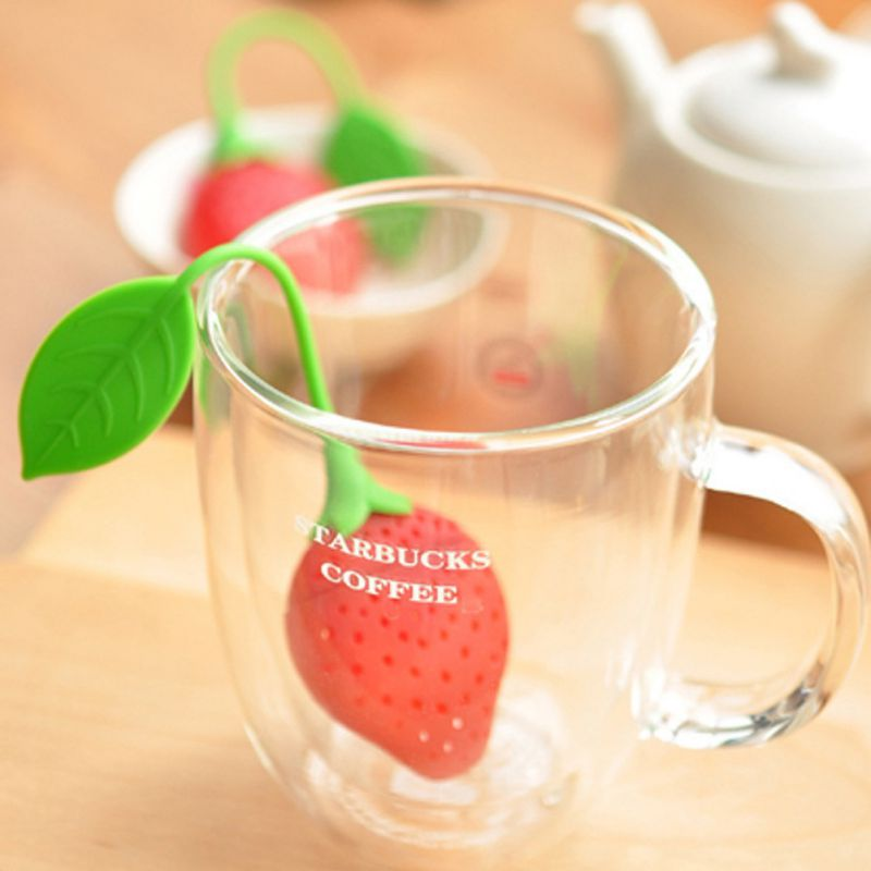 Silicone Tea Infusers For Loose Tea Reusable Candy Bags Strainer Filter For Herbal Tea