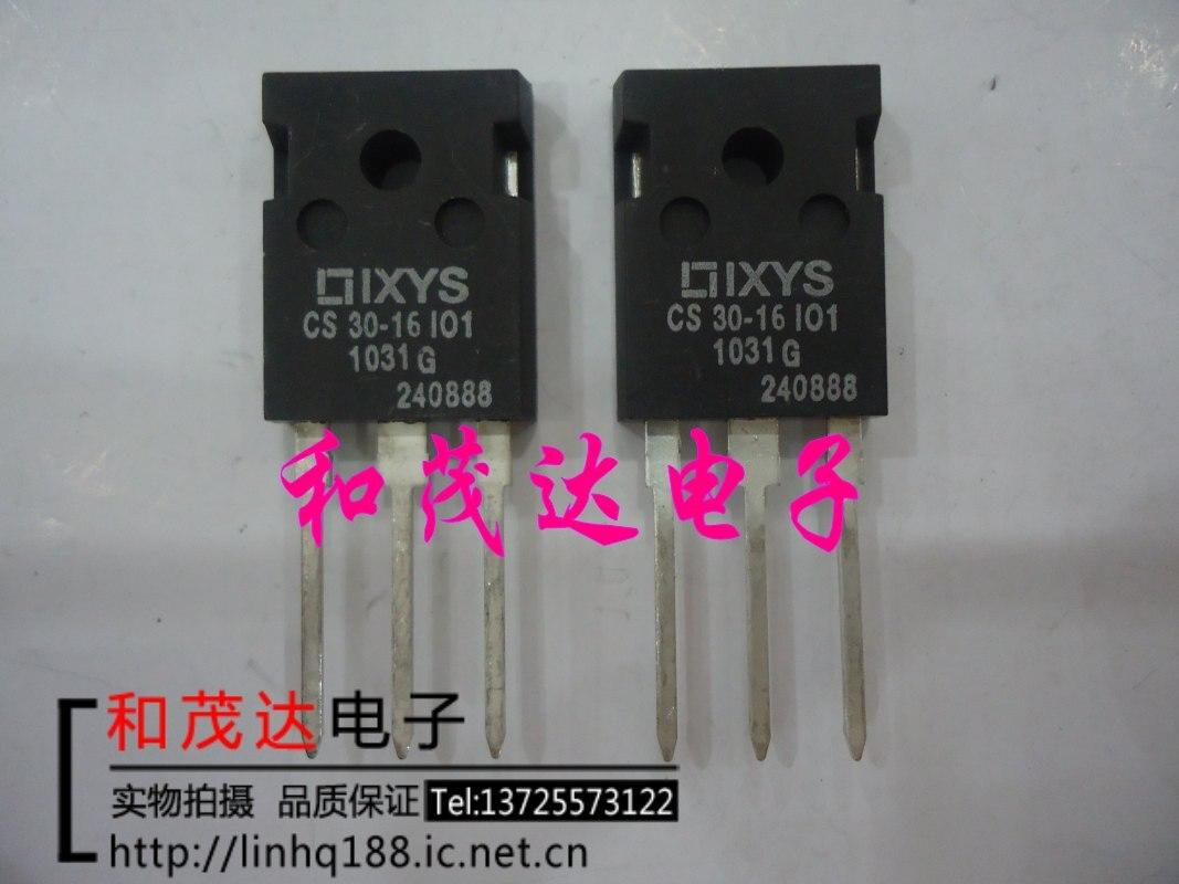 1 шт. новый оригинальный CS30-16IO1 TO-247 1600V31ACS30-16I01 в наличии