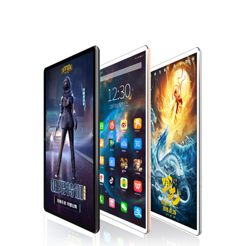2020 Newest 10.1 Inch Tablet Android 9.0 10 Core 6GB RAM 128GB ROM 3G 4G FDD LTE Wifi Bluetooth GPS Phone Call Tablet Pc