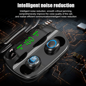 Image 5 - Lovebay Wireless Bluetooth 5.0 Earphones LED Display TWS Bluetooth Headphones Touch Control Waterproof Noise Cancelling Headset