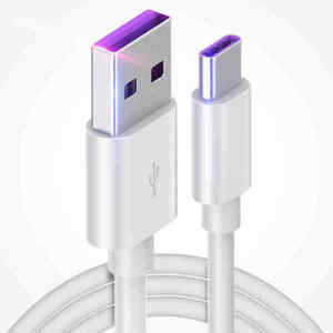 USB Type C Cable For Hua wei P30 P20 Pro lite Mate20 10 Pro P10 Plus lite USB 5A Supercharge Super Charger Cable