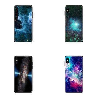 For iPhone SE2020 11 12 Plus Pro X XS Max XR 8 7 6S SE 5 5C 5S Soft Phone Cases Cover Nebula Infinity Bff image