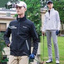 Новая мужская куртка одежда для гольфа 20 Осень Зима ветровка одежда для гольфа теплая тонкая уличная спортивная рубашка