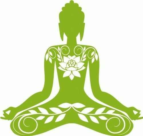 Estilo do carro Buda India Budismo Carro Adesivo Decalque Cortado