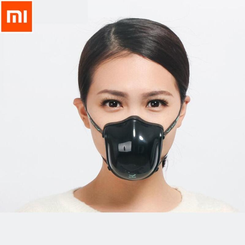 Xiaomi Youpin Q5S PRO Electric Anti-haze Mask Air Purifier Provide Active Air Supply Electric Face Mouth Mask For Outdoor