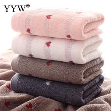 Heart-Shaped Bath Towels For Adult Cotton Soft Home Child Towel Face Couple Toallas Bathroom Toalla
