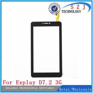 Новый 7 ''дюймовый сенсорный экран, дигитайзер, тачскрин, аналагово-цифровой преобразователь для Explay D7.2 3G планшет внешняя Сенсорная панель С...