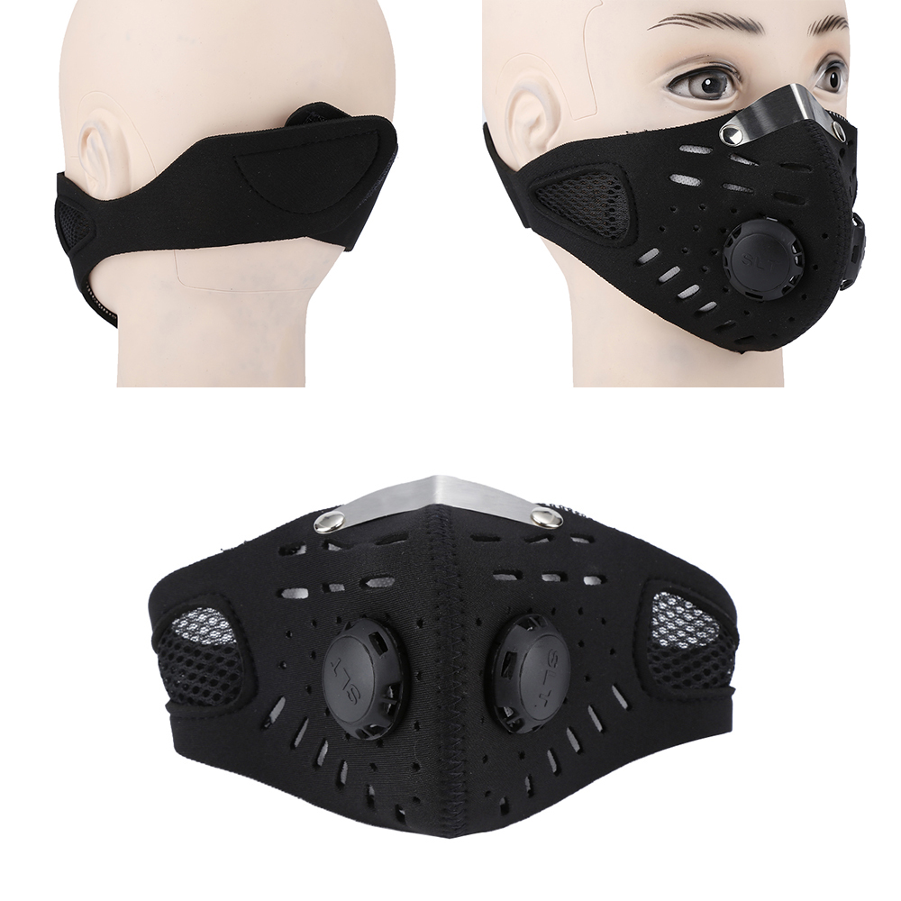 Anti Dust Bicycle Face Mask With Filter Activated Carbon Men…