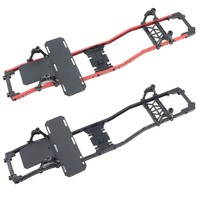 SCX10 Frame Girder Carbon Graphite Chassis Professionals Frame Rails for 1/10 Axial SCX10 RC Crawler Truck Off road Car