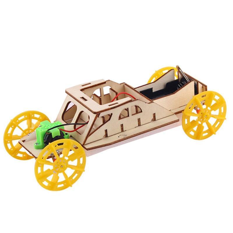 Car Model Fun DIY Science Experiments Toys Improve Brain Thinking Cerebellar Balance Small Production Materials Kits