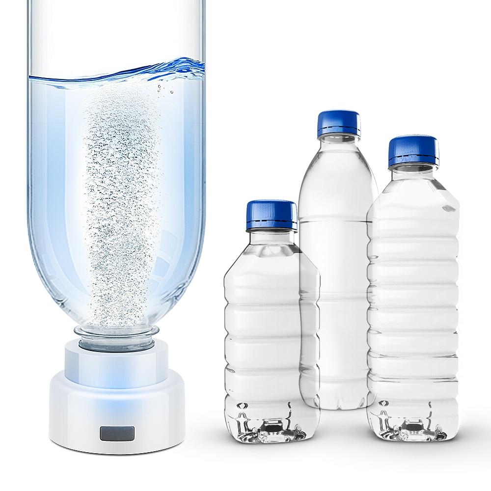 SPE Portable Hydrogen Generator Water Filter Ionizer Pure H2 PEM Rich Hydrogen Alkaline Bottle Electrolysis Drink Hydrogen