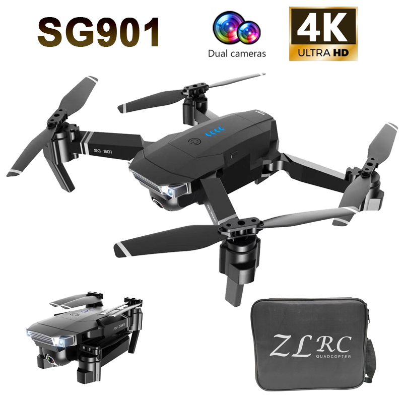 SG901 SG907 GPS RC Drone 4K/1080P HD Camera WiFi FPV Professional Optical Flow Camera Drone RC Quadcopter VS Xs816 S17 SG106
