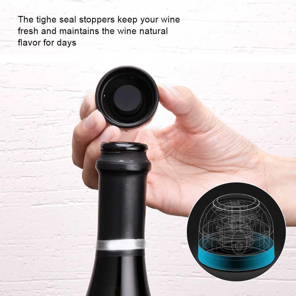 Réutilisable Champagne Bouchon vin mousseux en Acier Inoxydable Bouchon De Bouteille Sealer UK