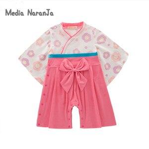 Детское кимоно в японском стиле для маленьких девочек и мальчиков, 5 видов, хлопковое кимоно для малышей, комбинезон для мальчиков, костюм