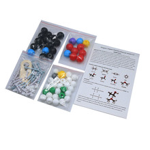 1set/125pcs Teaching equipment suitable for molecular structure models in high schools and junior high schools elementary study of economics for senior high schools