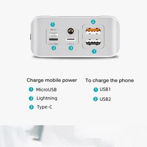 Image 2 - 30000mAh Power Bank Portable Charging Poverbank Mobile Phone External Battery Charger Powerbank 30000 mAh for Xiaomi Mi