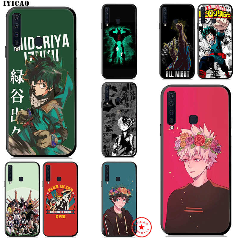 IYICAO Boku No Hero Academia Soft Case for Samsung Galaxy A9 A8 A7 J6 A6 Plus 2018 A3 A5 2016 2017 Silicone TPU