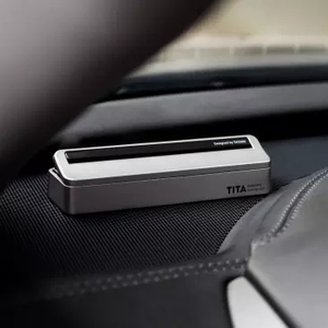 Image 2 - Xiaomi TITA بطاقة وقوف السيارات المغناطيسية ، ملصق رقم الهاتف الفلوري للسيارة ، ستيريو عكسي غير مرئي
