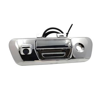 Car Rearview Backup Camera Tailgate Handle Camera Vehicle Backup License Plate Cameras LED Night Vision for NISSAN NAVARA NP300