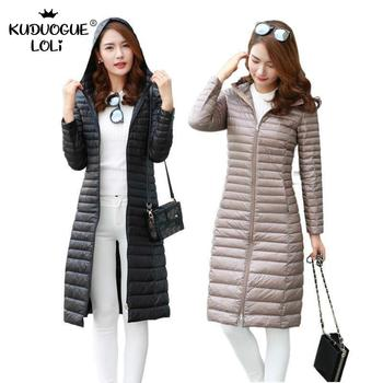 Down Jacket Woman Hooded Down Coat Female Jacket Women Winter Jackets Women Winter Long Puffer Coat New Slim Hooded цена 2017