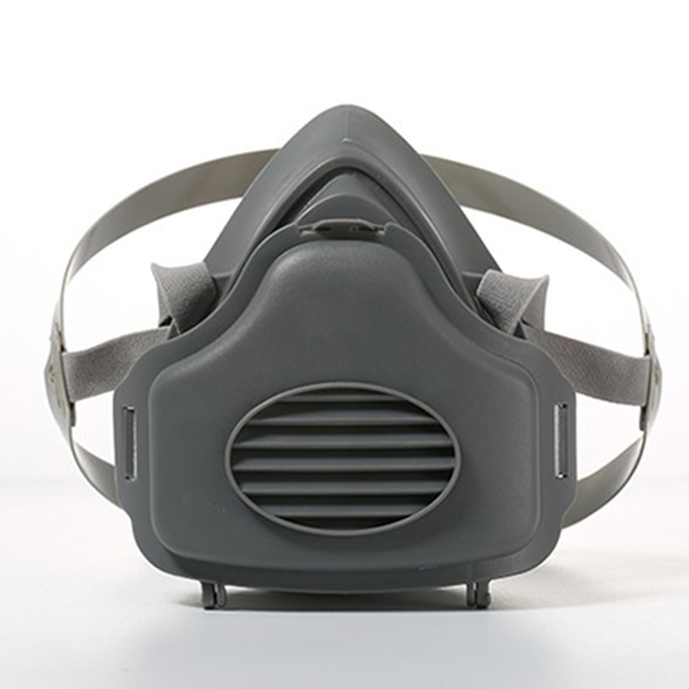 3700 Half Face Dust Gas Mask Respirator Safety Protective Mask Anti Dust Filter Pm2.5 Harmful Substance Respirator