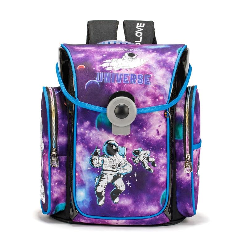 Top-Quality School Bag For Girls Boys Cartoon School Backpacks  Orthopedic Primary School Bookbag Boy Knapsack Mochila Escolar