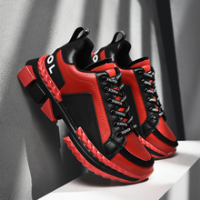 Spring Outdoor Running Shoes For Couples Black Jogging Shoes Thick Soled Mens Sport Shoes Luxury Brand Athletic Footwear Women