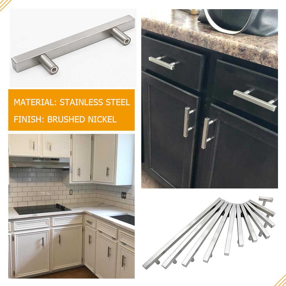Kitchen Cabinet Pulls Brushed Nickel Cabinet Handles Furniture