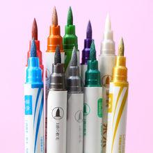 Ручка маркер для рисования металлическая двусторонняя 1 шт