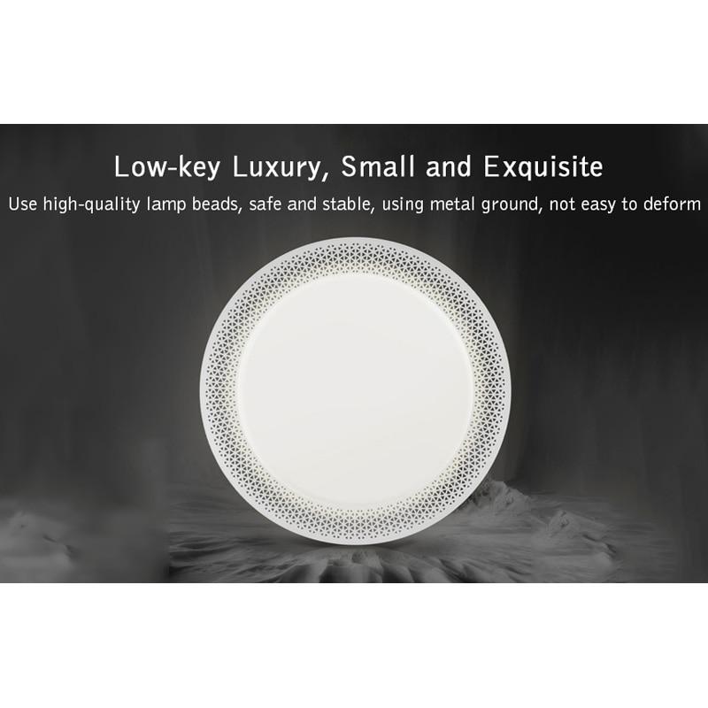 Yeelight 34W Smart Led-deckenleuchte Innen Beleuchtung Wohnzimmer Lichter 2000lm APP Control 560mm Einfache Runde XINYU version