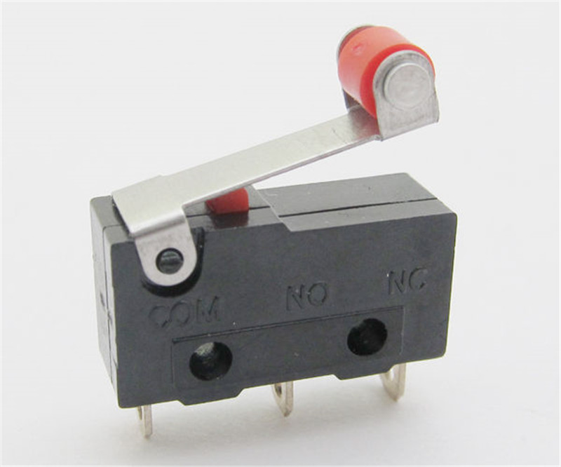 5 шт мини микроконцевой переключатель без nc 3 контакта А 125