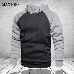 Winter Oversize Men Hoodies Long Sleeve Hooded Sweatshirt Pullover Men's Tops Blouse Pocket Pullover 4XL Thick Warm Coat Male