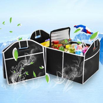 Car partment New Car Trunk Organizer Car Toys Food Storage Container Bags Box Styling Auto Interior Accessories Supplies Gear image