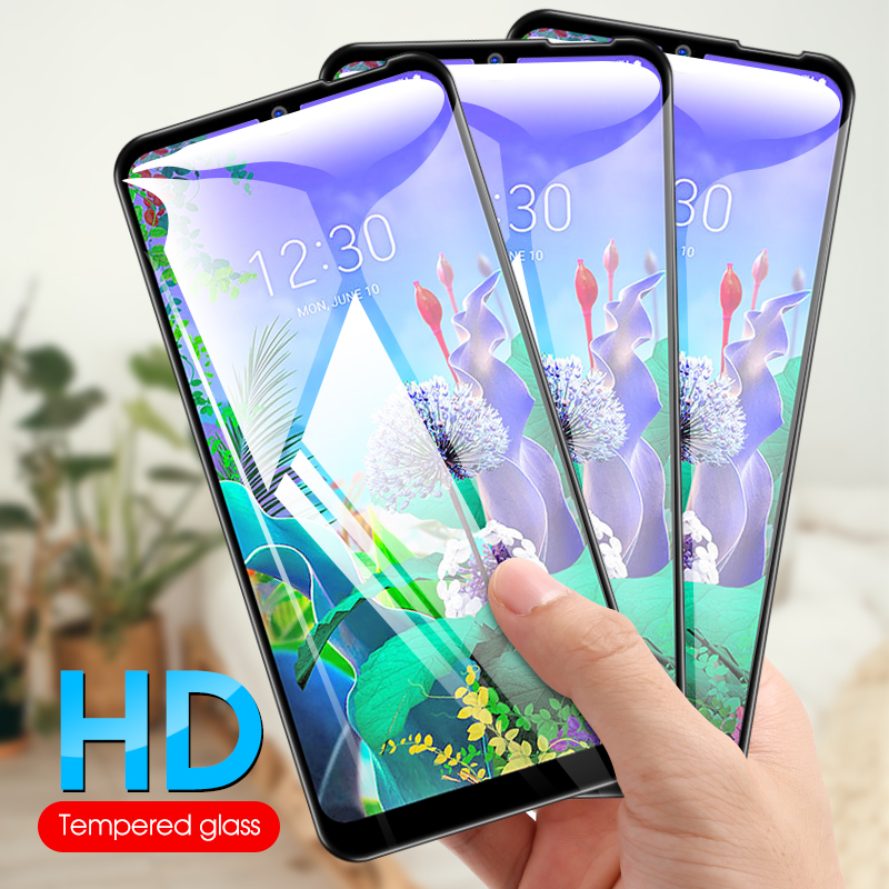 Toughened Protective Glass Guard For <font><b>LG</b></font> K50 K40 <font><b>K11</b></font> K10 K9 2.5D Tempered Glass HD Full Cover For <font><b>LG</b></font> K8 K7 2018 <font><b>Screen</b></font> <font><b>Protector</b></font> image