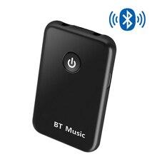 2 в 1 беспроводной Bluetooth AUX адаптер для приема сигнала, 4,2 3,5 мм разъем для аудио для столов, ТВ, домашней звуковой системы, автомобильная стереосистема