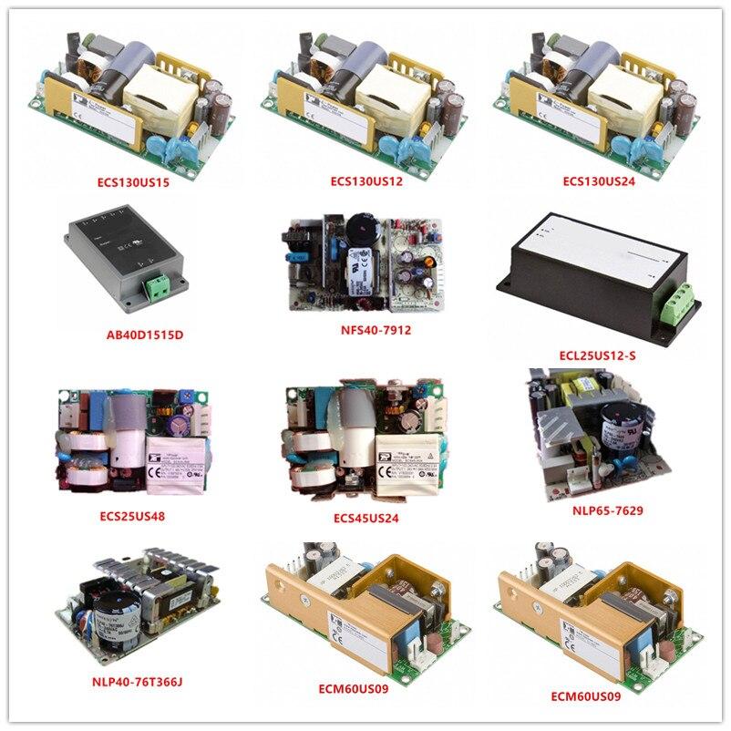 ECS130US15|ECS130US12|ECS130US24|AB40D1515D|NFS40-7912|ECL25US12-S|ECS25US48|ECS45US24|NLP65-7629|NLP40-76T366J ECM60US09