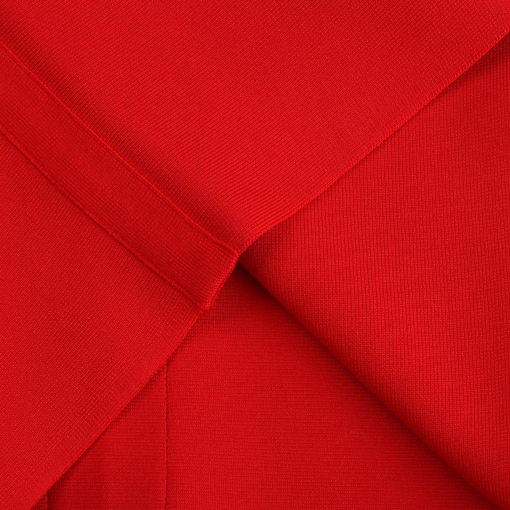 Double Deep V-neck Sleeveless Knee-length Elegant Bodycon Dress