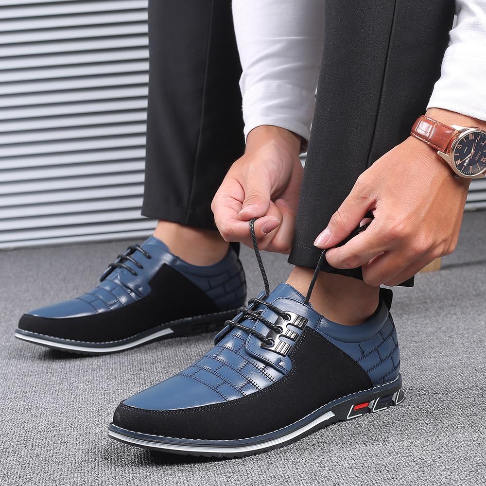 H3581f00896eb4550a5dc834de2cf6ce2i 2019 New Big Size 38-48 Oxfords Leather Men Shoes Fashion Casual Slip On Formal Business Wedding Dress Shoes Men Drop Shipping