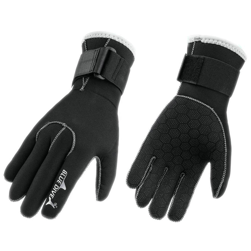 3mm Neoprene Scuba Dive Gloves Swimming Snorkeling Equipment Anti-scratch Non-slip Keep Warm Wetsuit Winter Swimming Glove