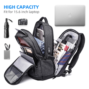 Image 4 - Mark Ryden Man Backpack Multi layer Space 15.6 inch Laptop USB Recharging Travel Male Bag Anti thief Mochila