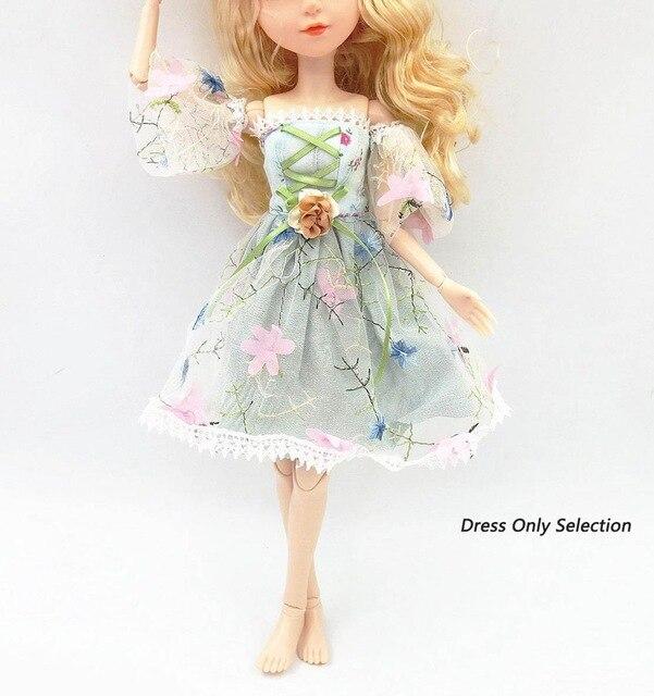 Hermoso vestido de muñeca 42 cm 45cm 48cm para muñeca Bjd de 42 cm, ropa para niños, accesorios de juguete, regalo de cumpleaños, ropa de diseño de moda para muñeca 1:6 modelo de pistola de plástico montar arma de soldado para 12