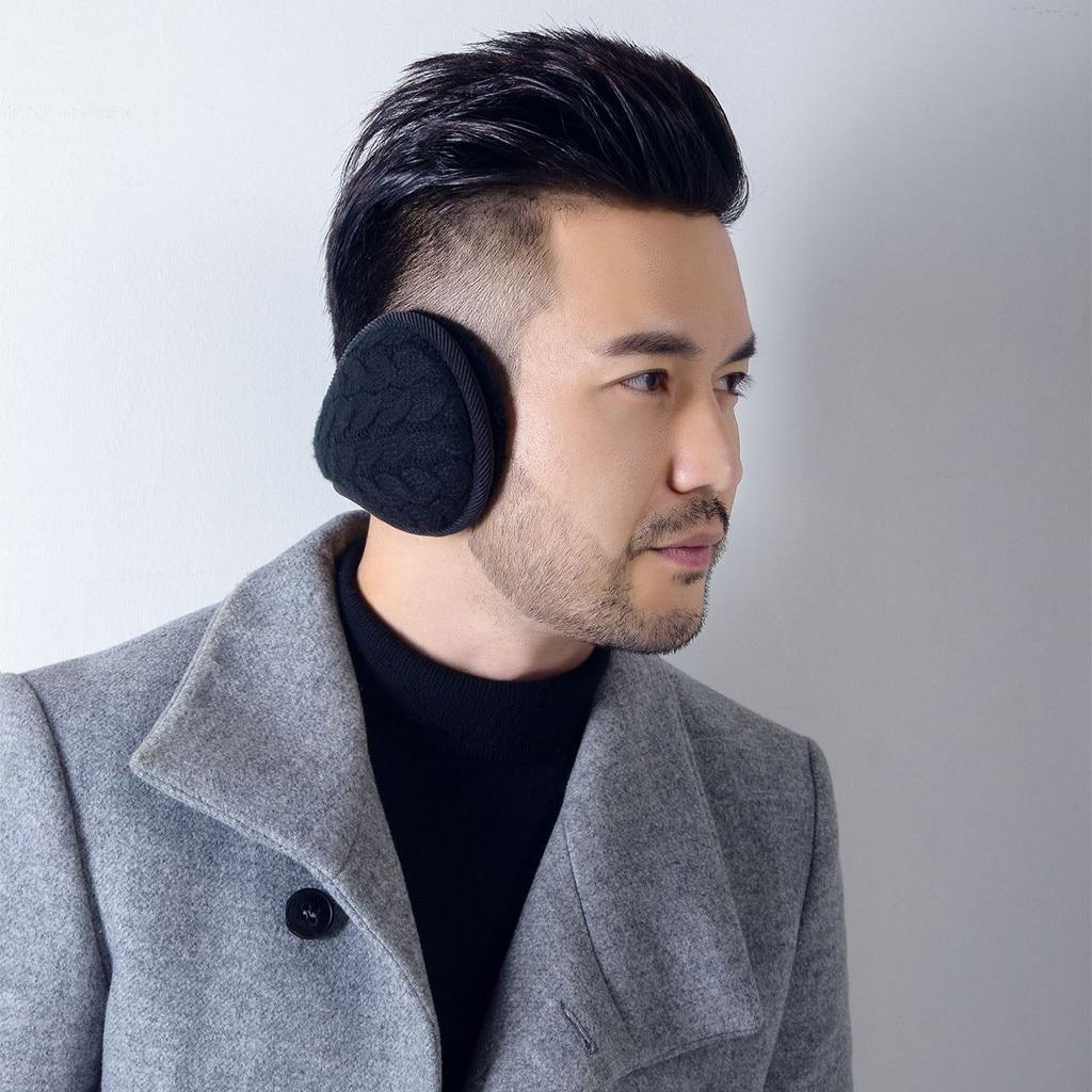 Winter Earmuffs Ear Warm Winter Unisex Foldable Windproof Ear Warmer Thicken Earmuff For Man Woman Warm Ear