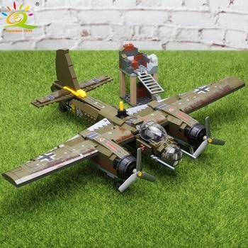 "Конструктор HUIQIBAO ""Бомбардировщик Ju-88"", 559 шт. 6"