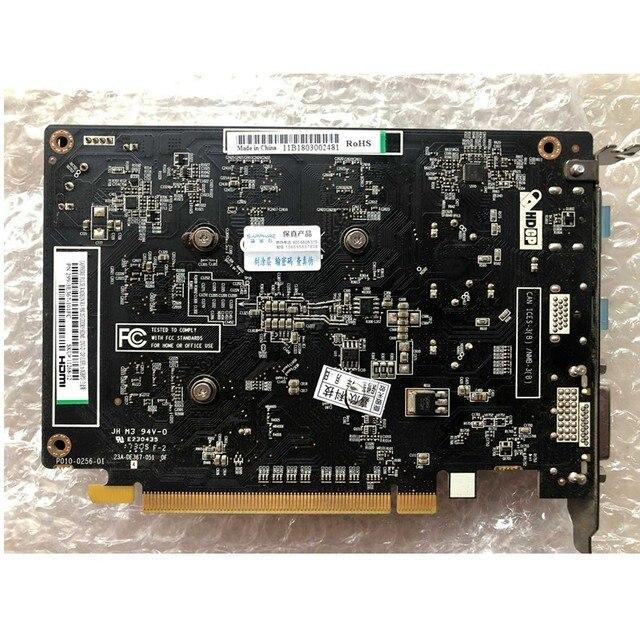 Tarjetas gráficas zafiro RX550 4GB GPU AMD Radeon Original RX 550 4GB GDDR5 tarjetas de Video Escritorio PC ordenador Mapa de juegos PCI-E X16