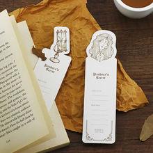 30 шт винтажная бумажная Закладка записываемая книга держатель
