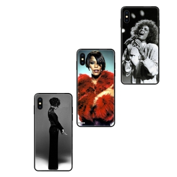 For Sale Black Soft TPU Capa Cover Case Sexy Singer Whitney Houston For Huawei Honor 6A 7A 7X 8C 8X 9 9A 9I 9X 10 10I 20 20I image