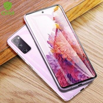 CHYI 3D zakrzywiona folia do Samsung Galaxy S20 FE 5G folia ochronna na całą okładkę nano hydrożelowa folia z narzędziami nie szkło bez pęcherzyków
