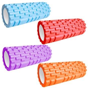 33cm Sport Fitness Foam Roller Yoga Block  Gym Pilates Yoga Exercise Back Muscle Massage Roller Home Training Equipment 1