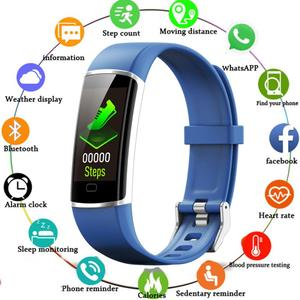Image 1 - Z9 Smart Fitness Bracelet with Pressure Measurement Health Bracelet 5 in 1 Wristband Tracker Pedometer Heart Rate Monitor Band