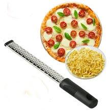 Ralador para frutas e vegetais, ferramenta multifuncional de aço inoxidável para zester de frutas e queijo, microavião, frutas e vegetais